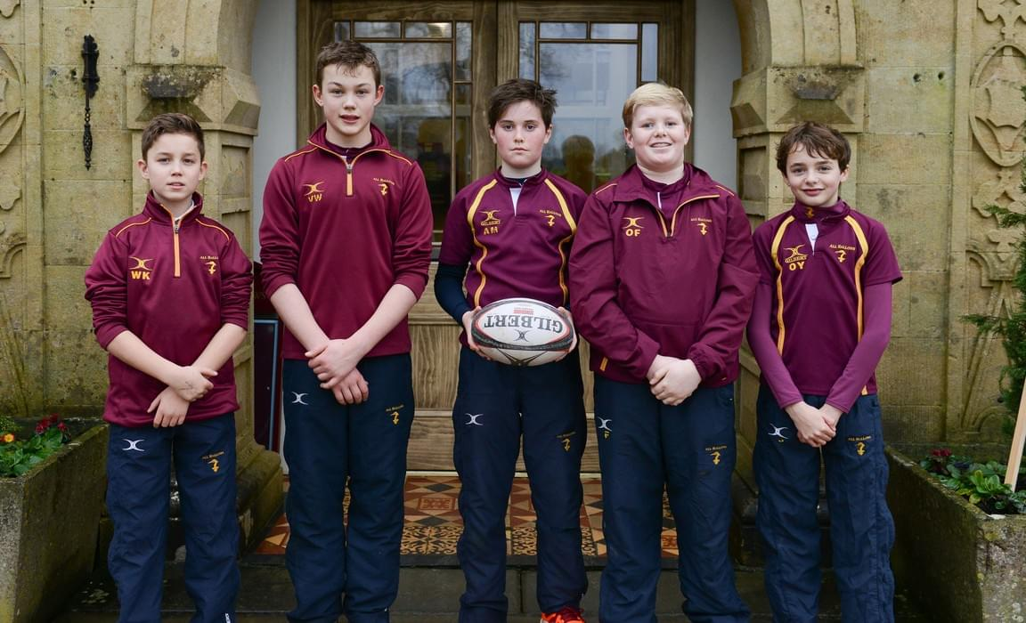 All Hallows rugby pathway