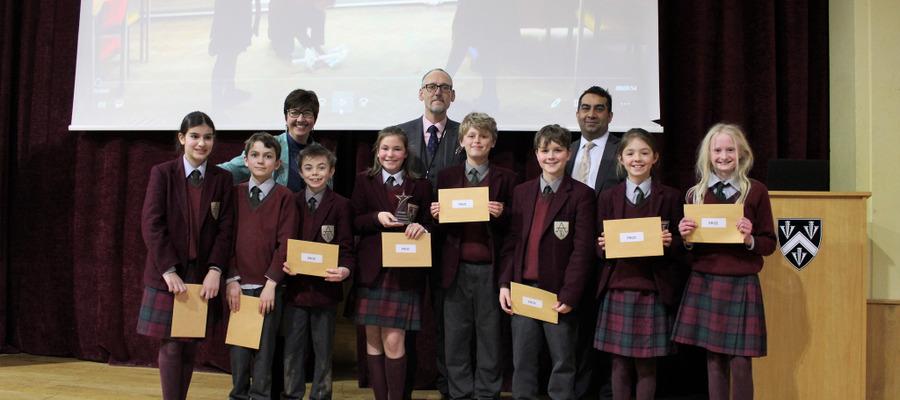 Ashfold wins Bloxham Apprentice Challenge 2018