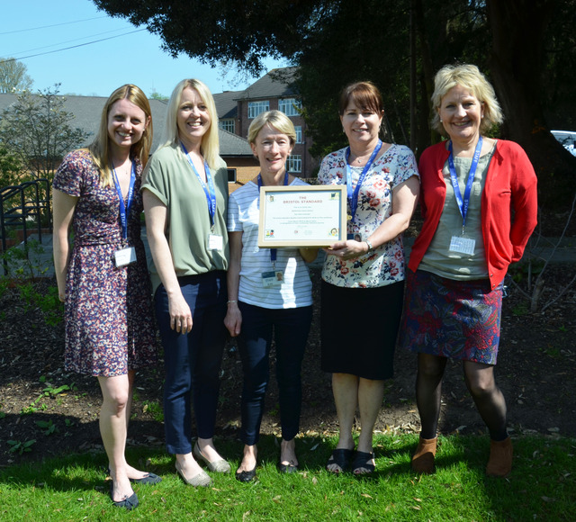 Badminton Junior School Early Years have been awarded 'The Bristol Standard'