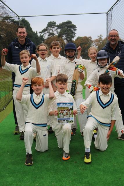 Barfield children celebrate Cricket accolade