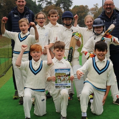 Barfield children celebrate Cricket accolade