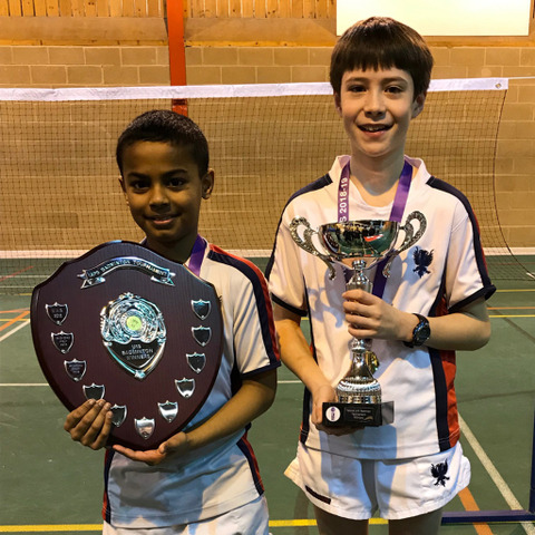 Bedford Prep Badminton IAPS Winners 2019 feature