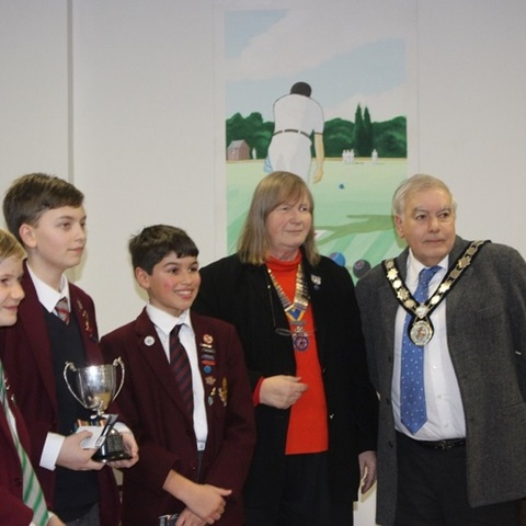 Beechwood Park take first prize in Youth Speaks Competition