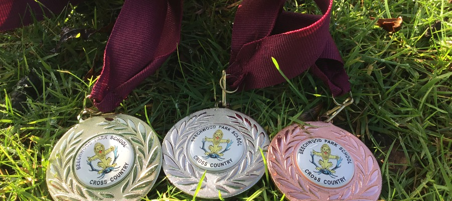 Beechwood Park School Cross Country Event Medals