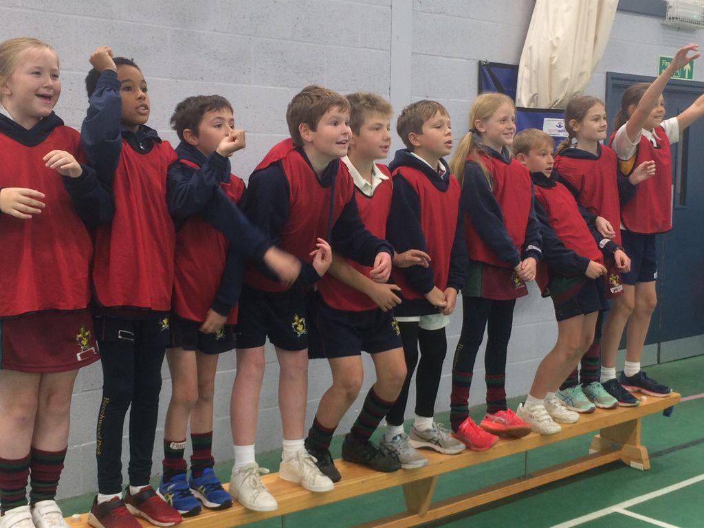 Bench Ball Battle at Beechwood Park School