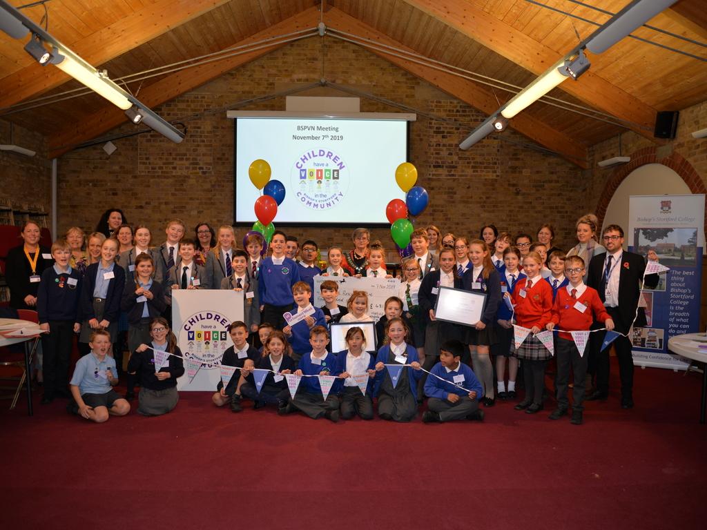 Bishop's Stortford Pupil Voice Network Meeting #3