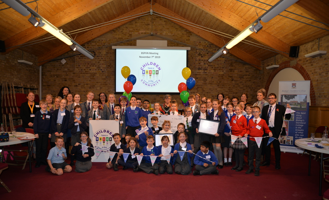 Bishop's Stortford Pupil Voice Network Meeting #3