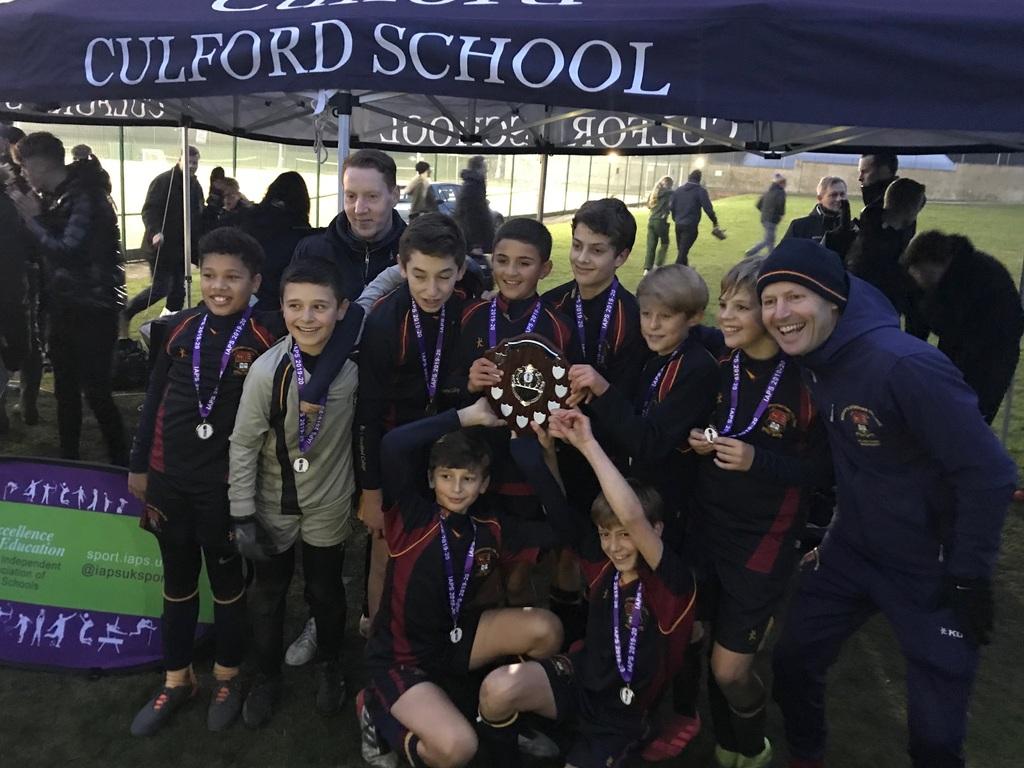 U13 IAPS Football Champions