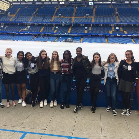 BHS Students at Stamford Bridge