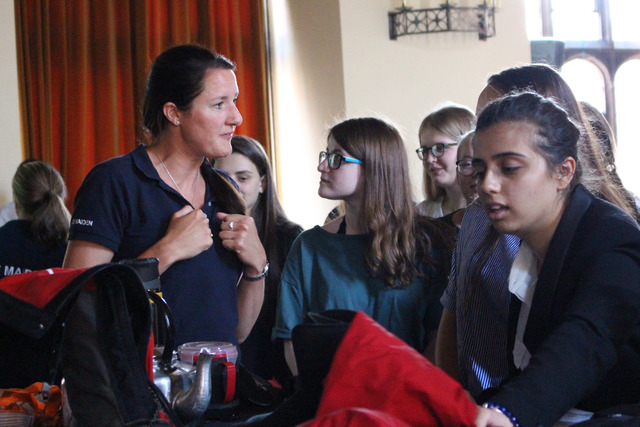 Ice Maidens ask 'What's Your Antarctica?' at Bolton School