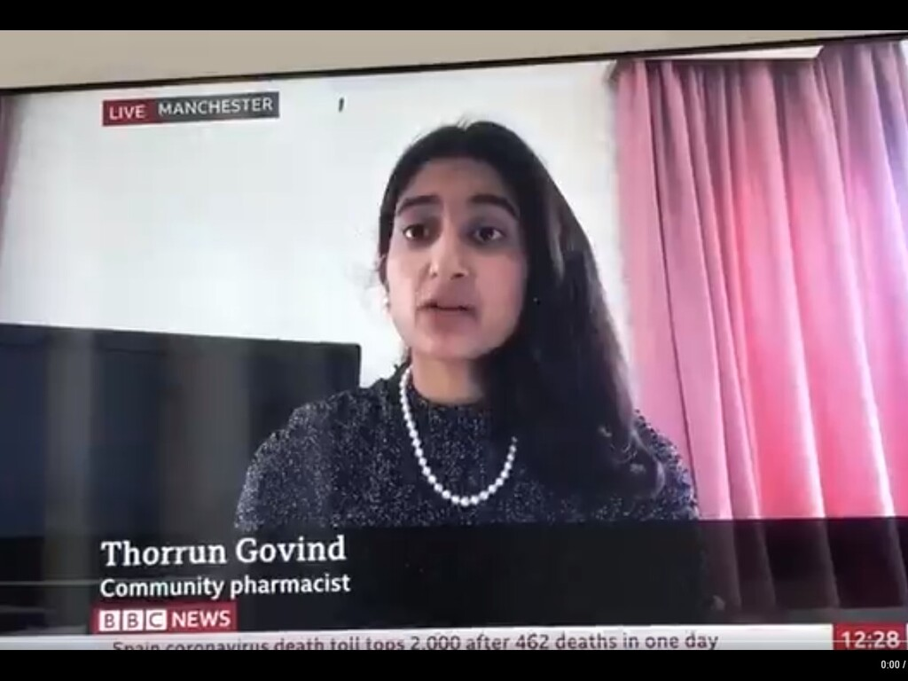 Bolton Old Girl's Plea to Respect Boundaries in Pharmacies