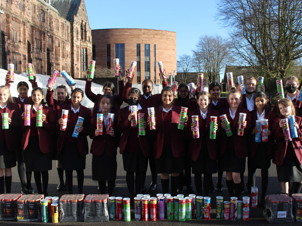 Pringle Bells Challenge Fills Festive Hampers