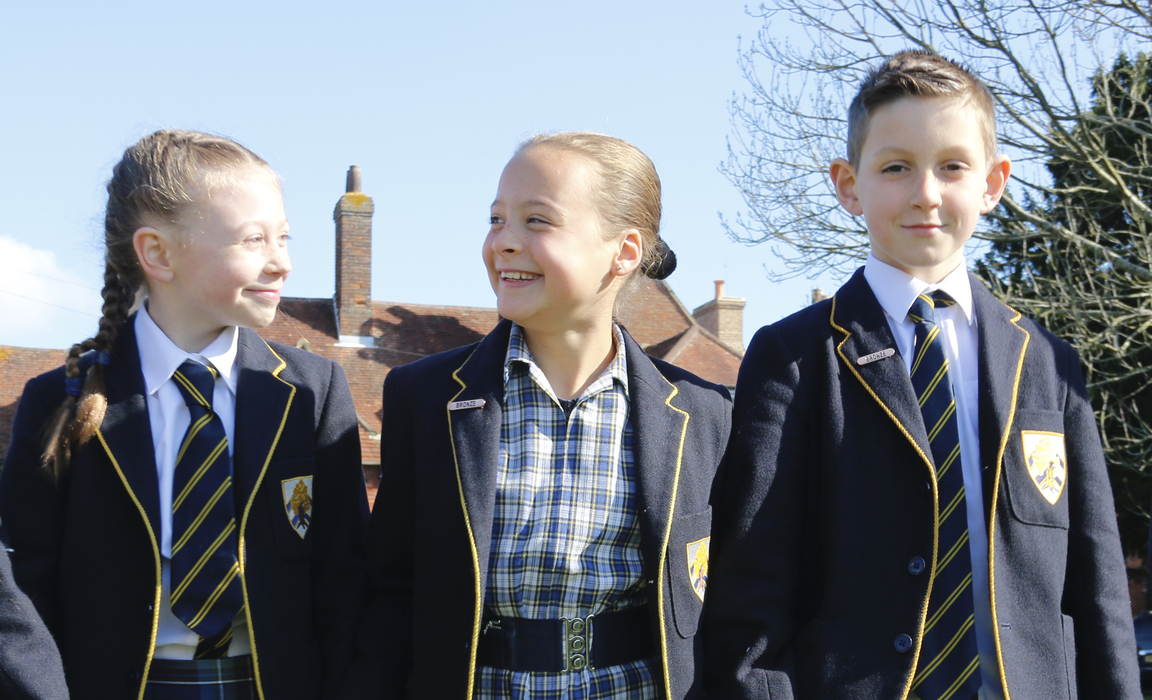 Pupils at Boundary Oak were involved in choosing the three partner charities