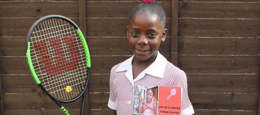 Tahlia Tennis Book