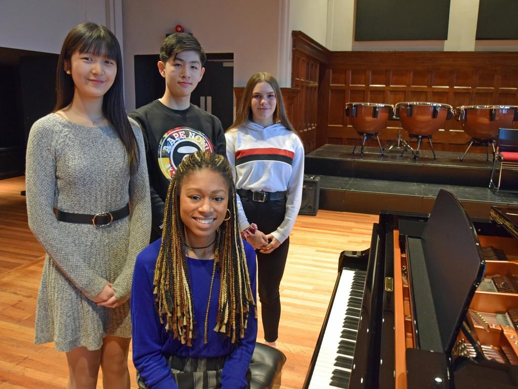 Masterclasses with Isata K-M (BR pupils)