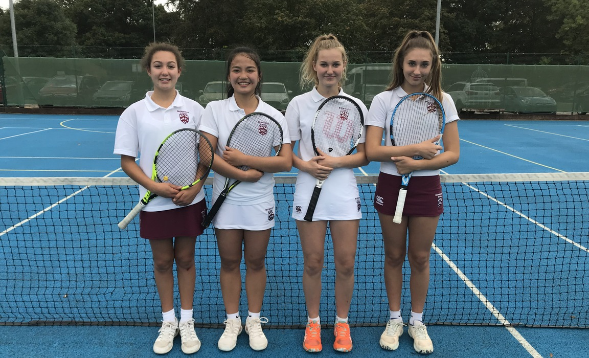 U16 AEGON tennis team