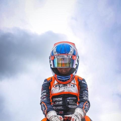 Freddie S - karting champion summer 2019