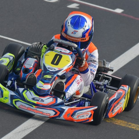 F.Slater - World Karting Championships