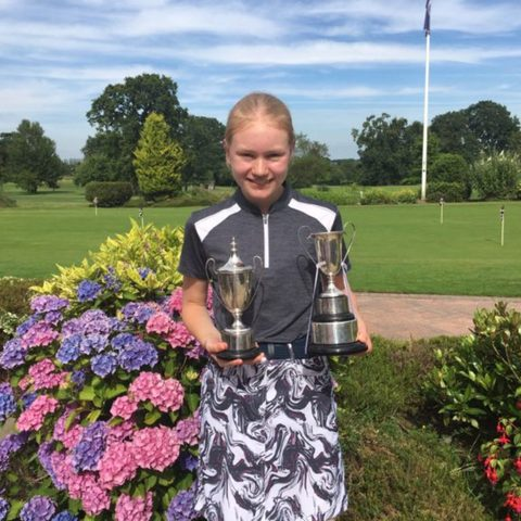 Lili-Rose H golf worcs champion