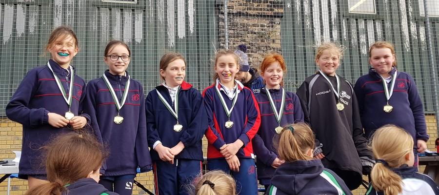 Gold medal under 11 B team