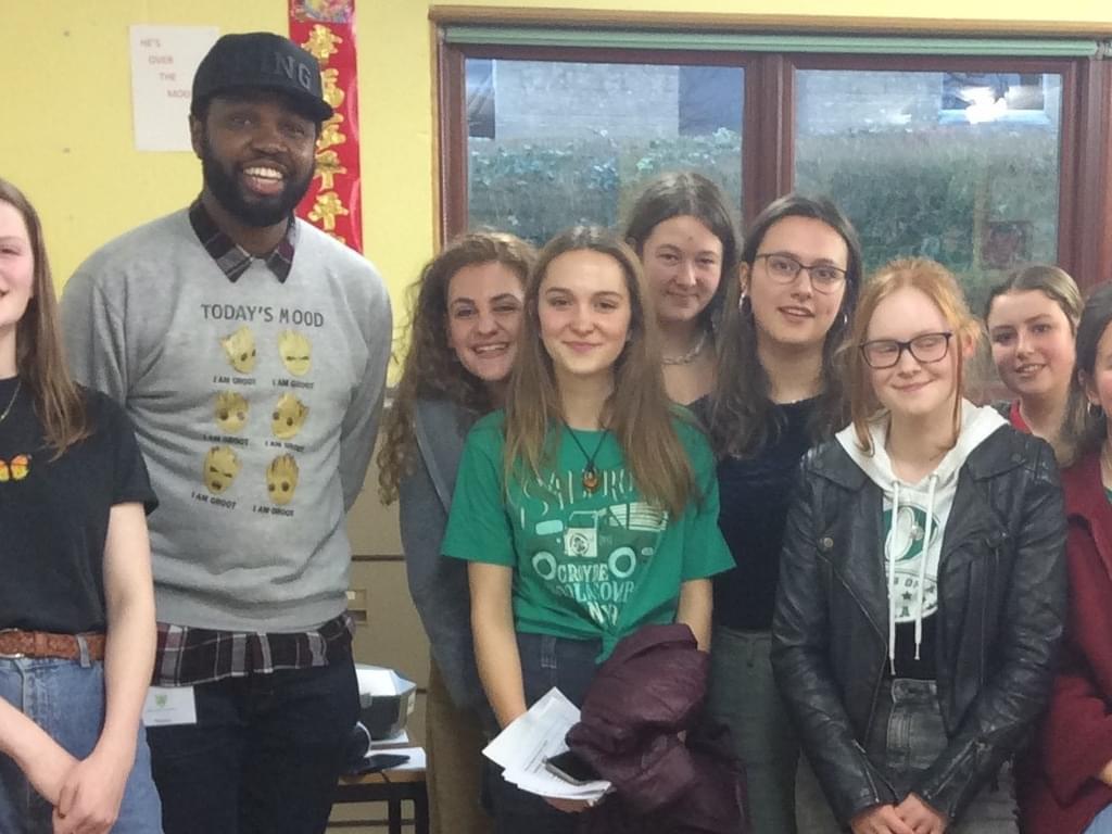 Hip Hop performer brings poetry alive at Bruton School for Girls