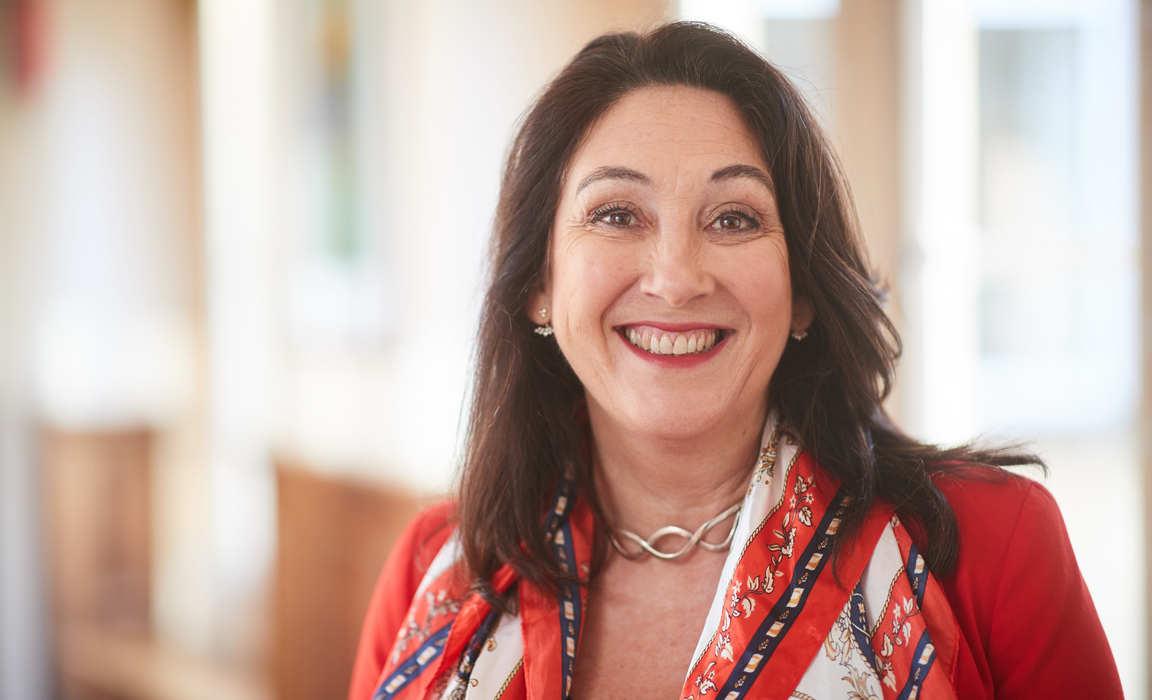 Mrs Jane Evans, new Headmistress at Bruton School for Girls.