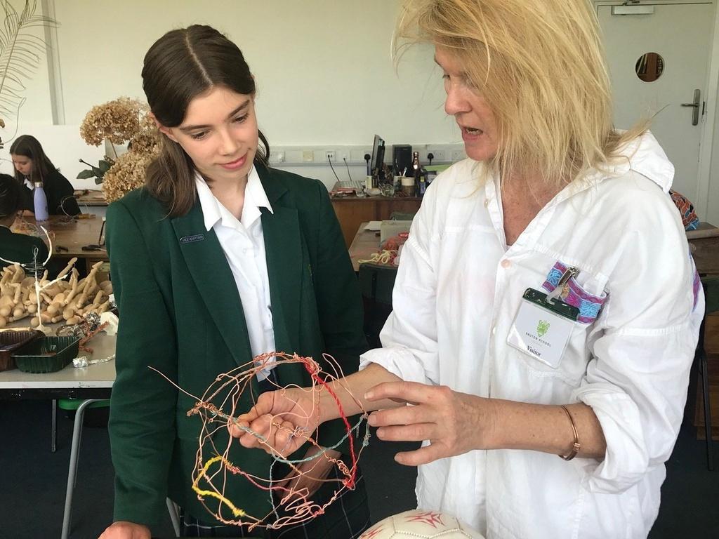 Somerset Art Weeks Festival at Bruton School for Girls