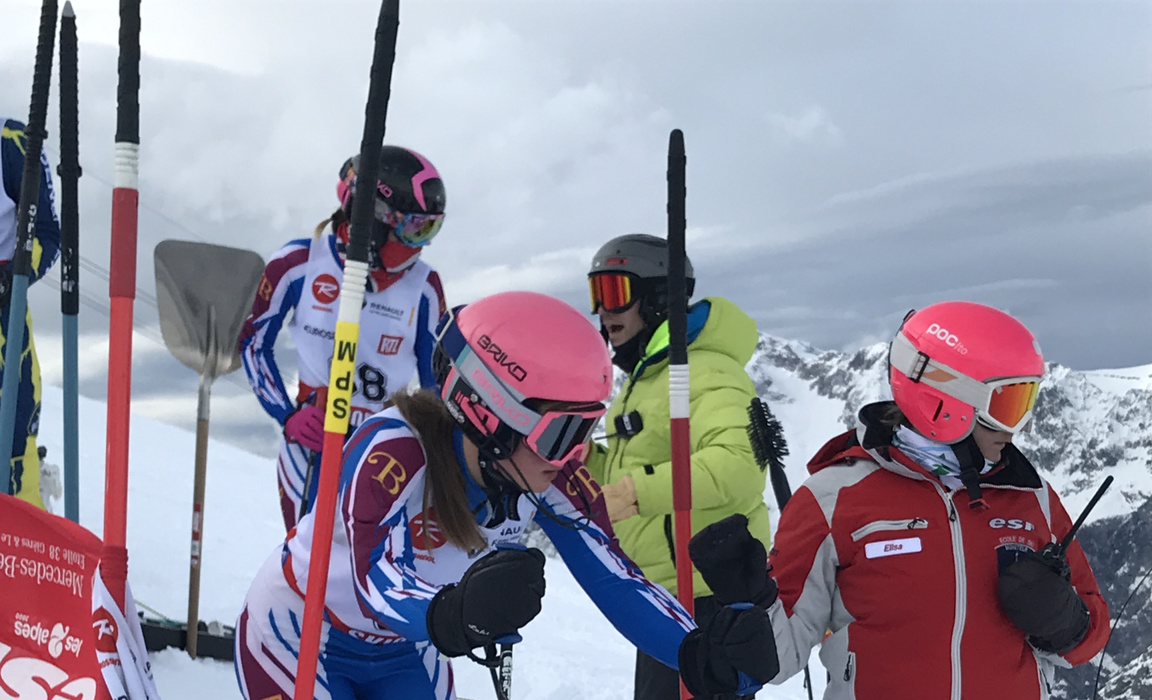 Ski Slalom Success - Charlotte Hogbin