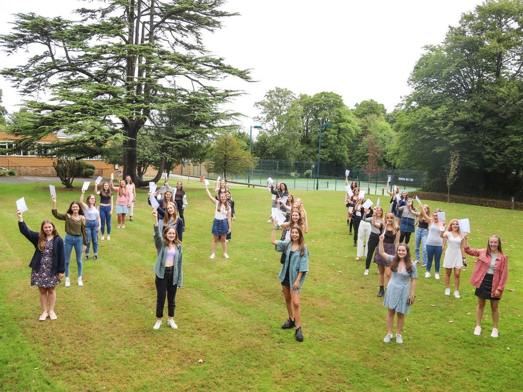 Burgess Hill Girls GCSE Celebrations