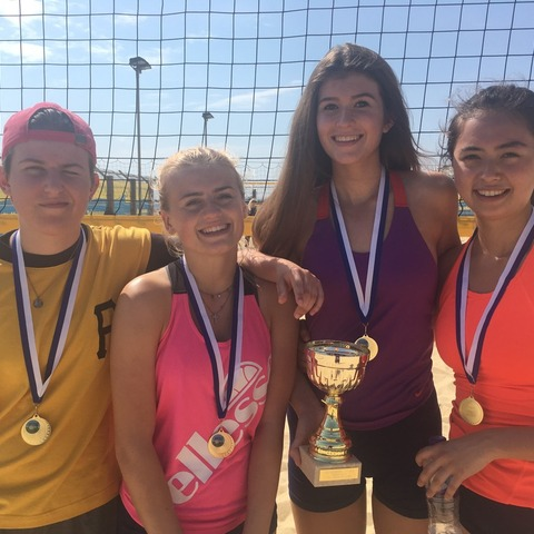 Burgess Hill Girls Crowned National Beach Volleyball Champions