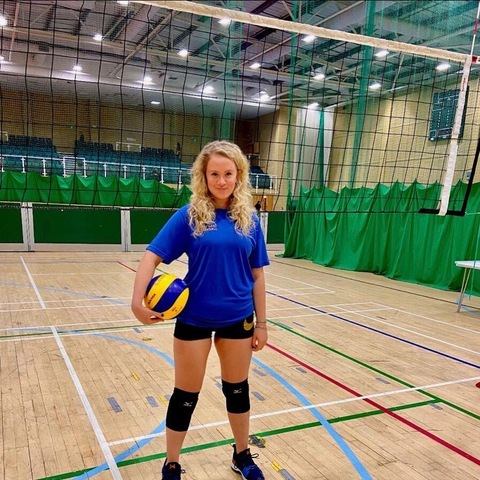 Peanut Burgess Hill Girl Selected for South East Volleyball Team