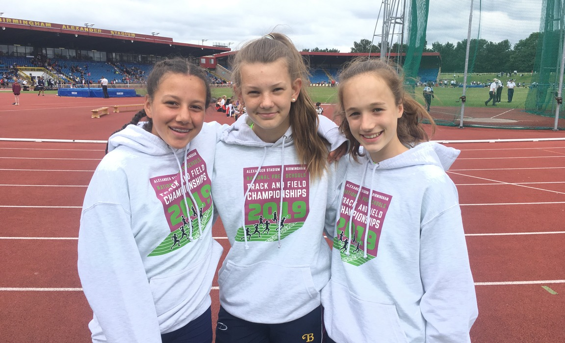 Burgess Hill Girls Represent Sussex in National Athletics Finals