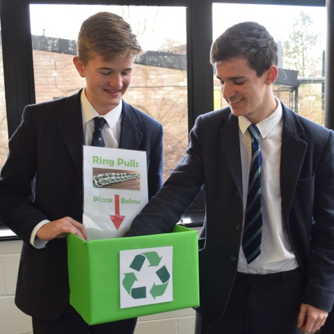 Canford School Win on Waste