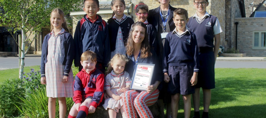 Chandlings Wellbeing Award May 2019
