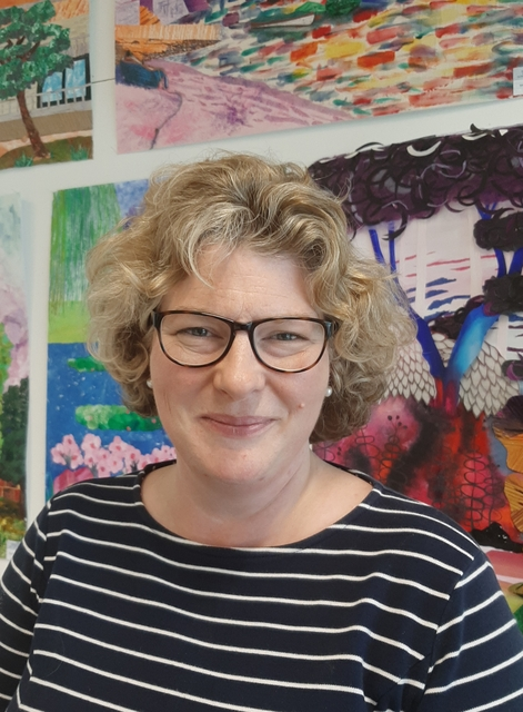 Mrs Lindsey Hughes, who will become the new Headmistress of Channing School in September 2020