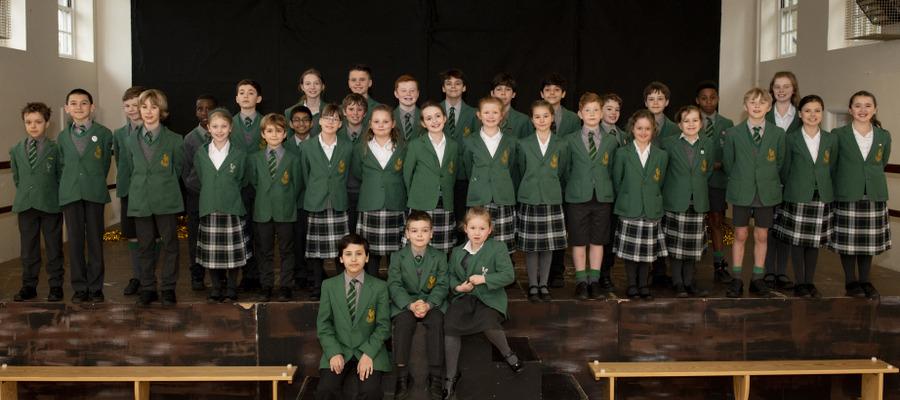 Thirty five children took LAMDA Drama exams this spring