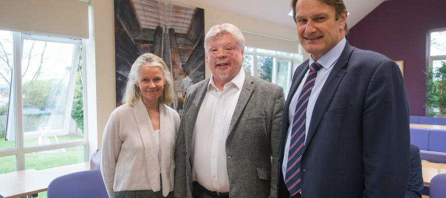 Judy Grill, Simon Weston, Simon Williams