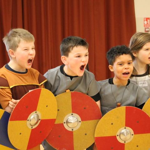 Anglo Saxon Crackley Hall 1