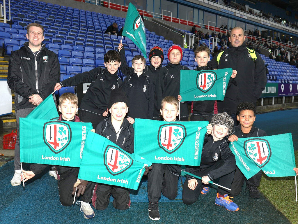 U11A London Irish Day Trip