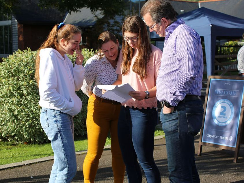 Cranford House celebrate another year of superb GCSE results