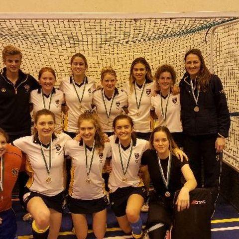 Girls U16 & U18 South Indoor Champions