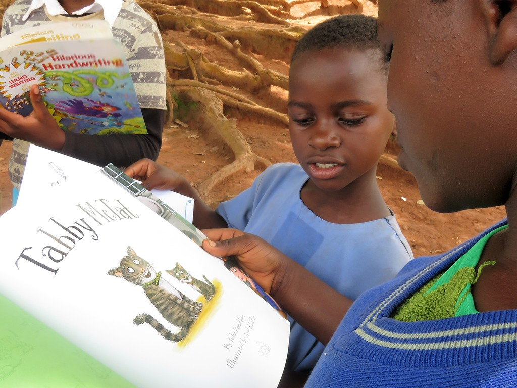 St Kizito school in Uganda receive books from Cranmore