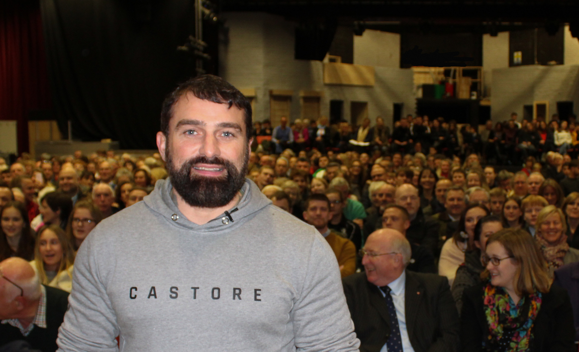 Ant Middleton and audience