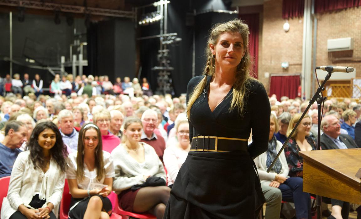 Amanda Owen, the Yorkshire Shepherdess, Visits Dauntsey's