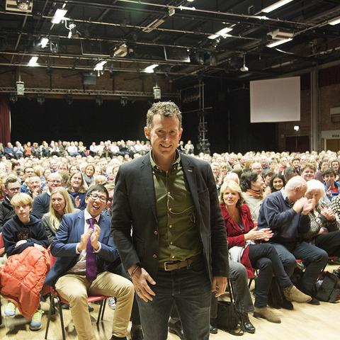 Nigel Owens MBE talks visits Dauntsey's