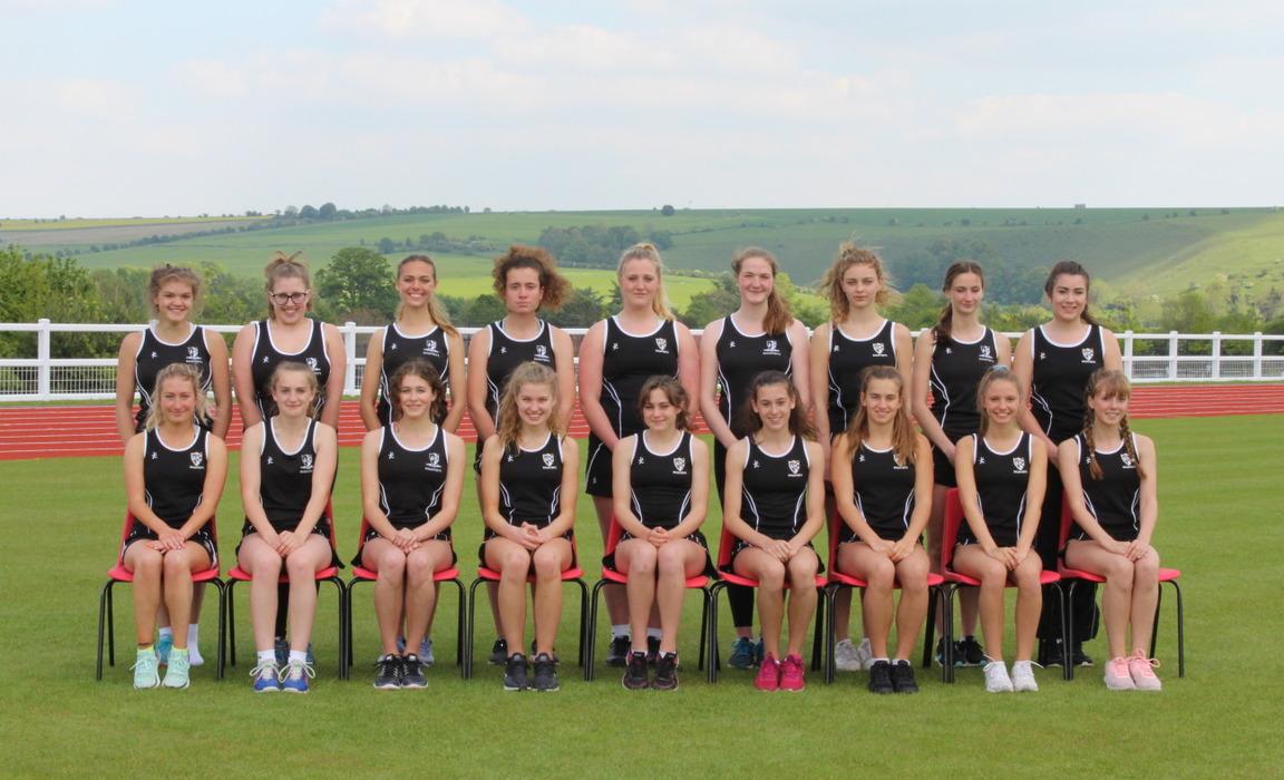 athletics 2019 girls team