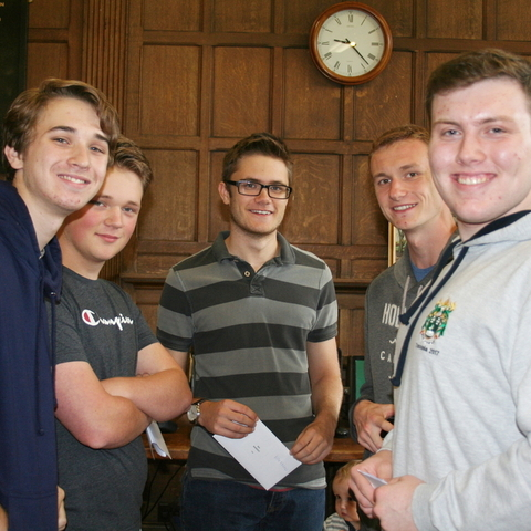 A Level Results Day at Derby Grammar School