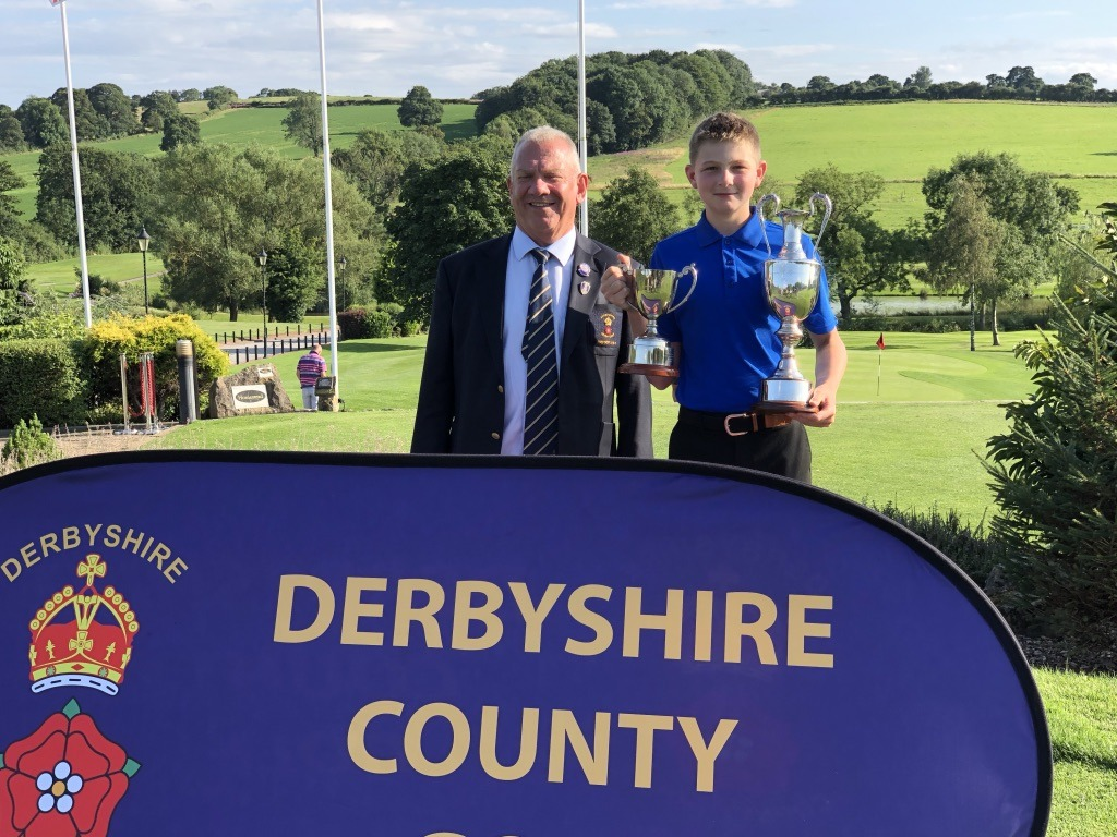 Tom Weeks - winner of U14 Derbyshire County Championships - 2019