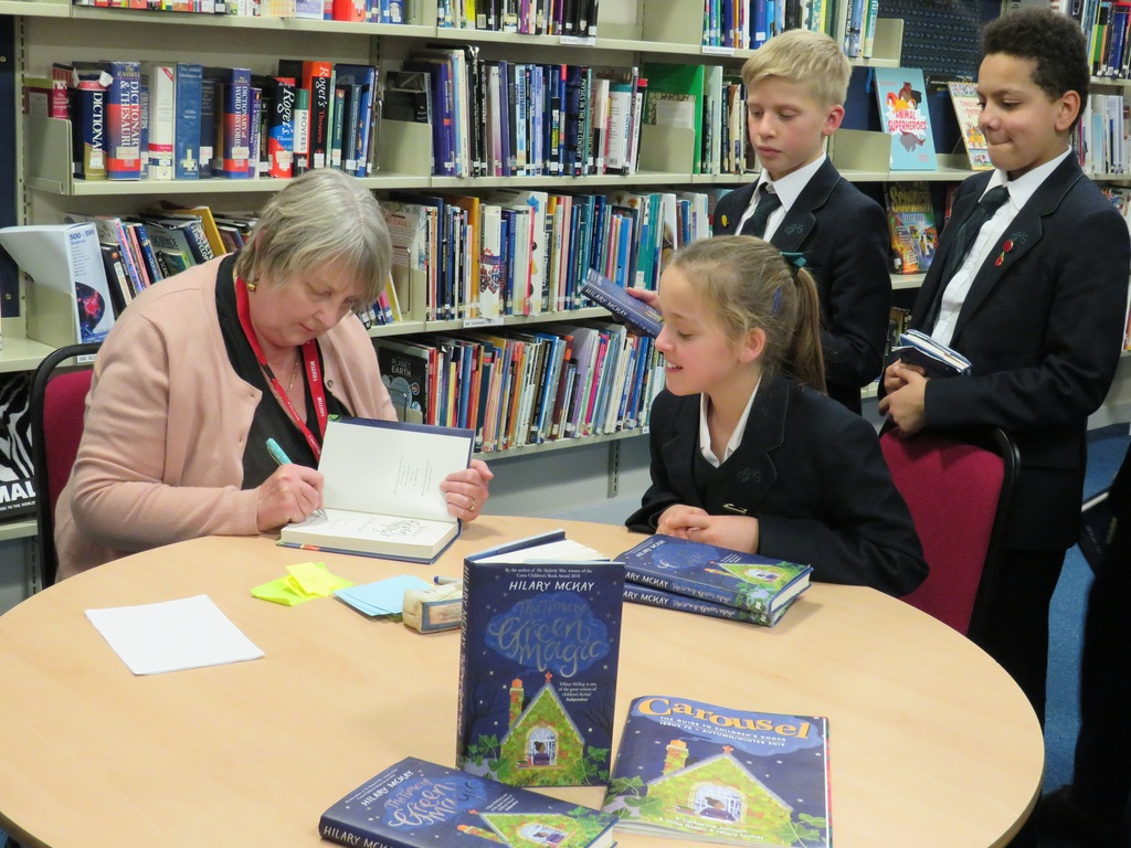 Hilary McKay Visits Derby High School