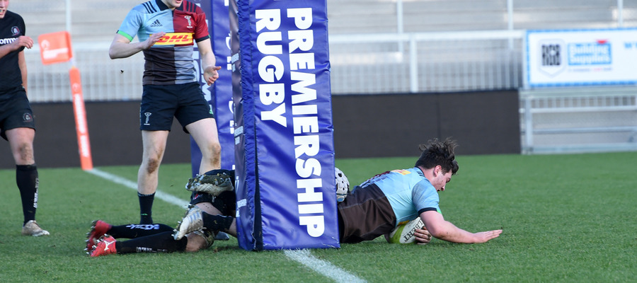 Theo scores for Harlequins